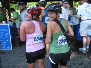 Heelya and I at mile 30