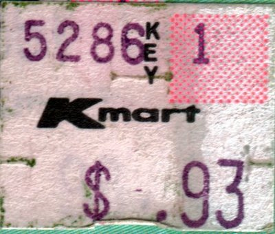 kmart sticker